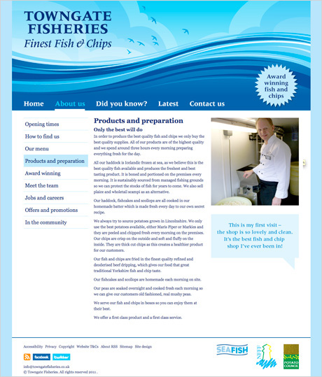 Penny Wilson – Towngate Fisheries Website